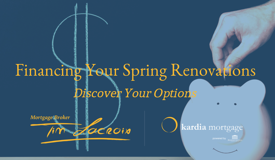 Financing Your Spring Renovation