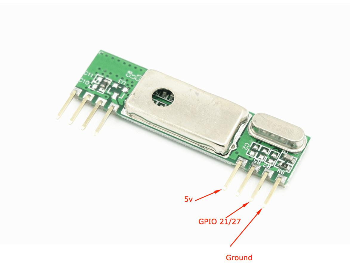 tim water temperature gauge wiring diagram toro z master wireless sensor leland connect wires to rf receiver chip