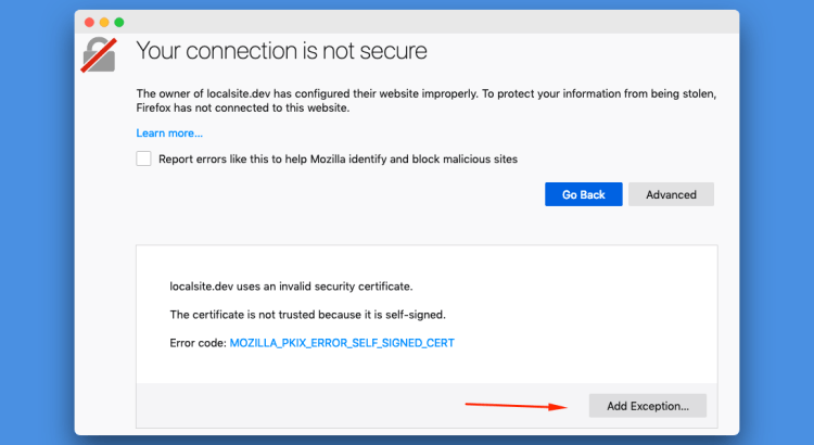 Firefox Allow Self Signed Certificate - Tim Leland