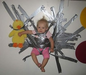 baby duct tape
