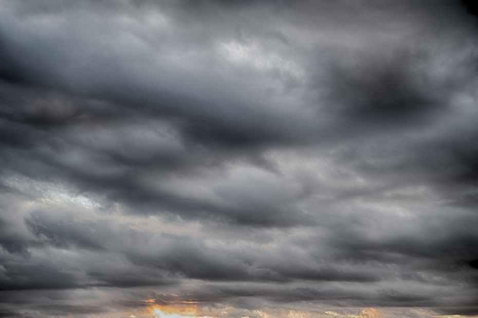 masses of dark clouds
