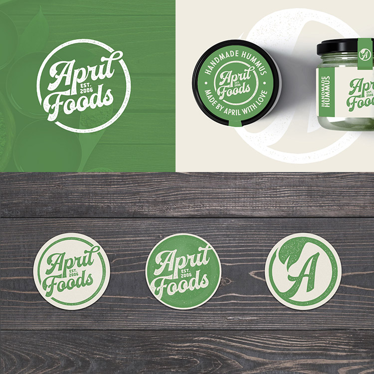 homemade foods logo and jar label