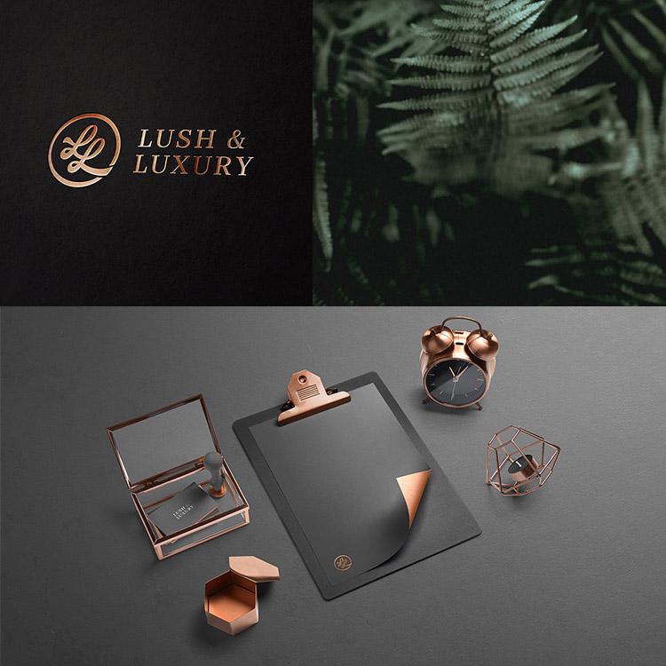 modern luxury logo design