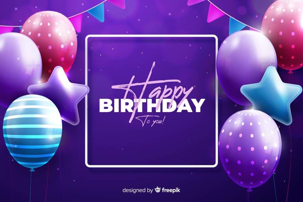 free birthday background