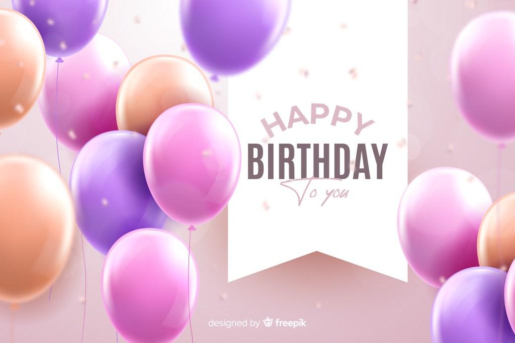 free vector birthday background