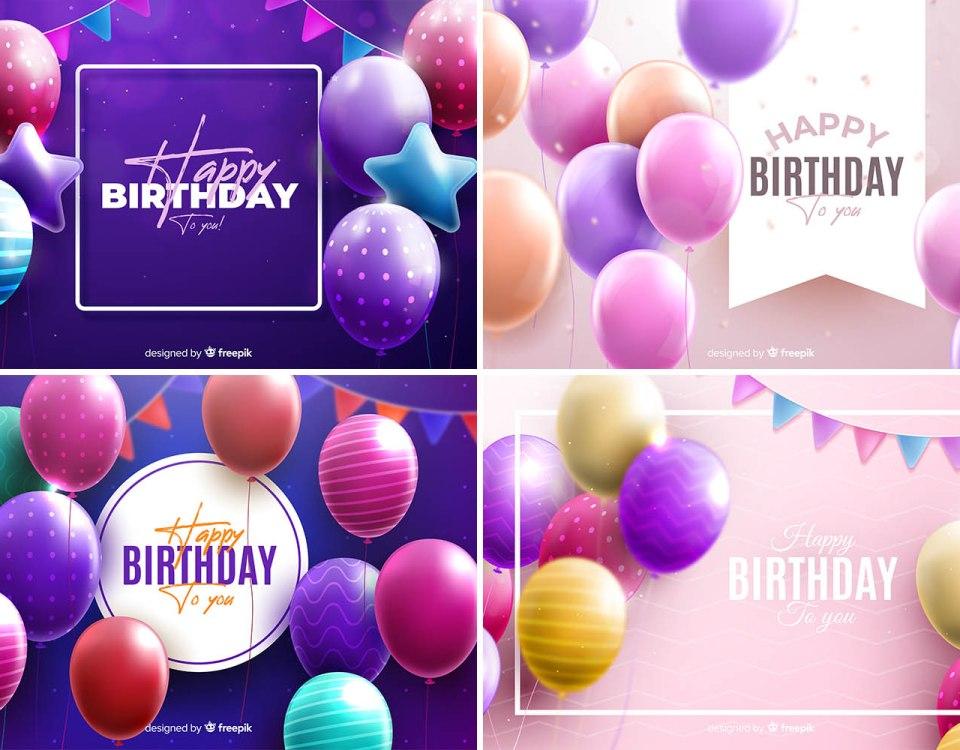 free happy birthday backgrounds