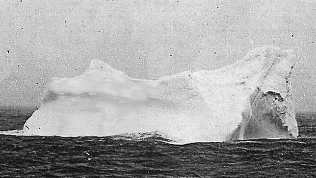 titanic lookouts ice