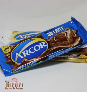 Barra Chocolate Ao Leite | 80g | Arcor
