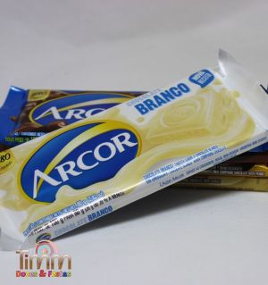 Barra Chocolate Branco | 80g | Arcor