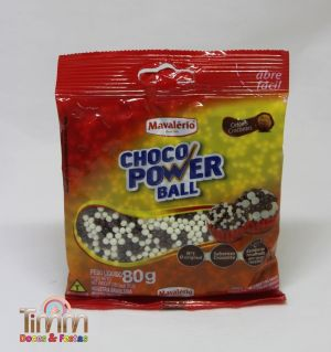 Choco Power Ball Micro | Mesclado | 80g | Mavalério