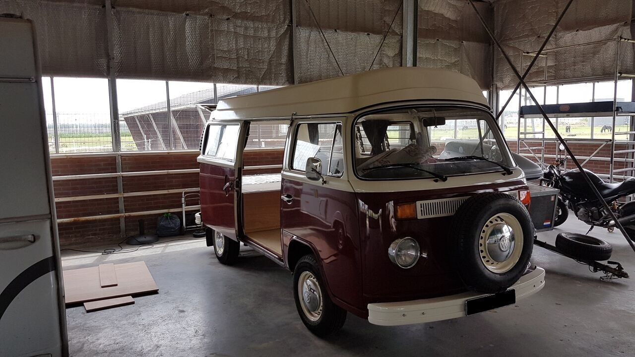 Opbergbox oldtimer busje  Timmerbedrijf van der Meij