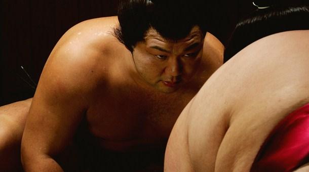 поединок борцов сумо