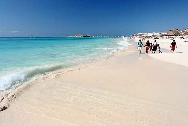 Пляж Плайя дель Кармен