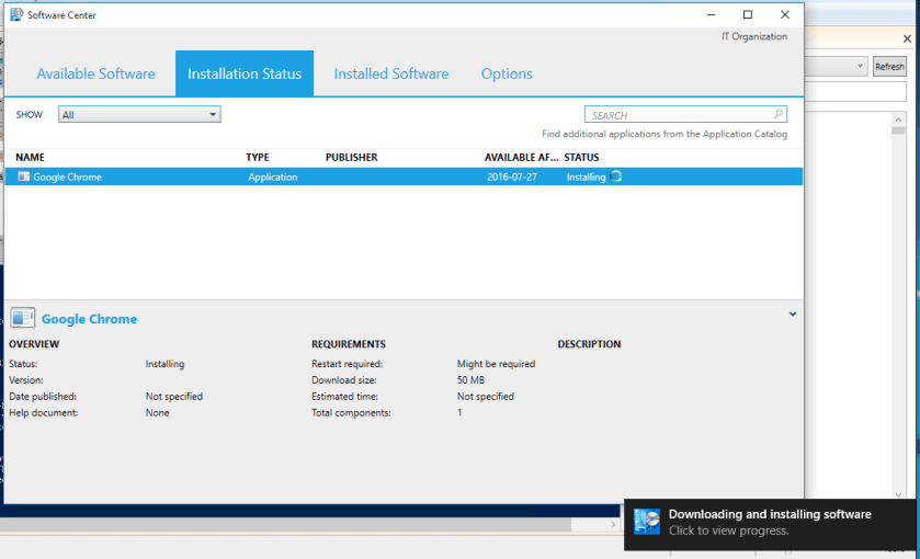 SCCM and Powershell – Force install/uninstall of available software