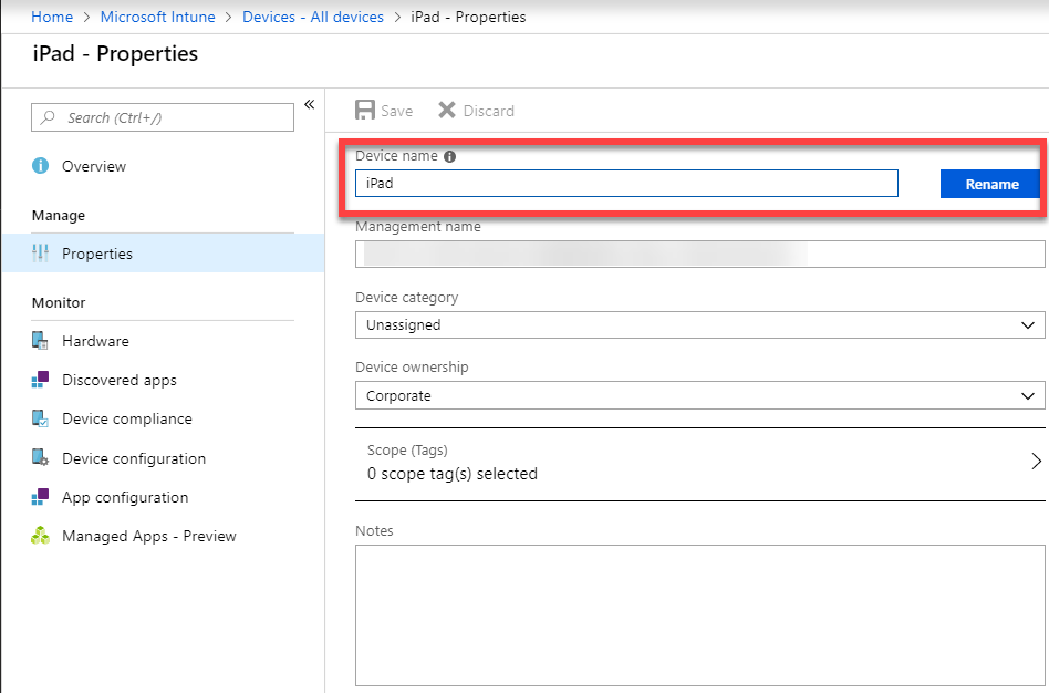 Intune – Rename iOS devices with Intune Powershell SDK – TimmyIT com