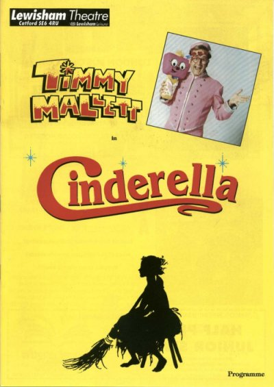 Cinderella at Lewisham Theatre