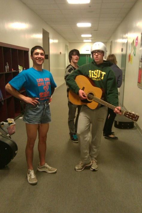 Ciaran y Andrew son atractivas