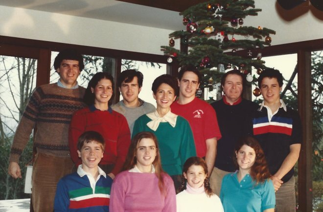 Merry Retro Christmas from my Mom and her Brothers and Sisters from long ago!