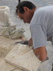 peckham-stonecarving