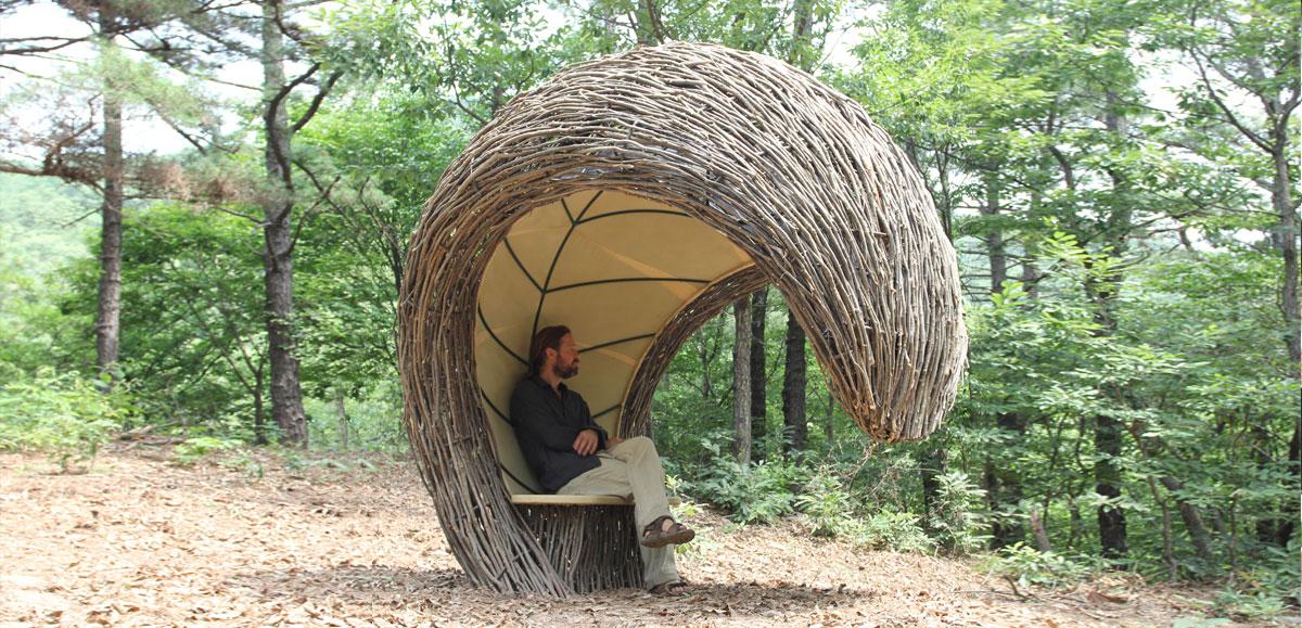 Forest Wave Shelter