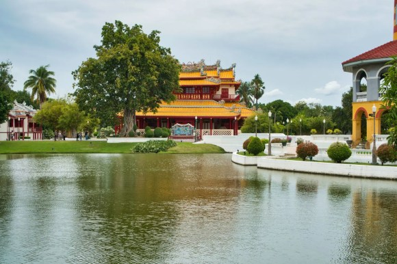 Sommerpalast in Bang Pa-In in Thailand