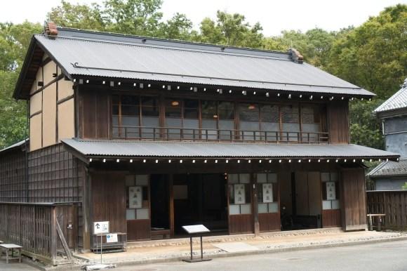 """Gasthaus """"Mantoku"""" im Edo-Tokio Freilicht-Architektur-Museum."""