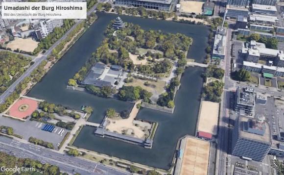 Bild des Umadashi der Burg Hiroshima