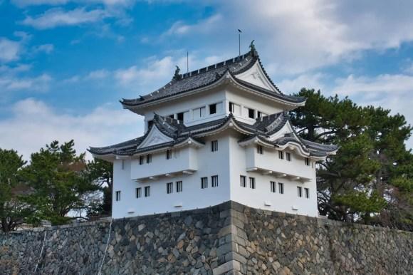 Bild eines Yagura der Burg Nagoya
