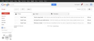 Giao diện Gmail - timoday.edu.vn