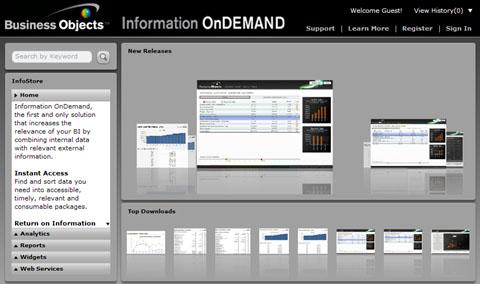 information-on-demand-istore