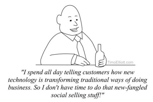 The social sales irony of technology sales