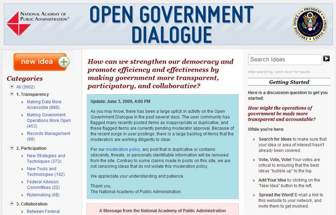 Great Examples of US Government BI Transparency – Digital