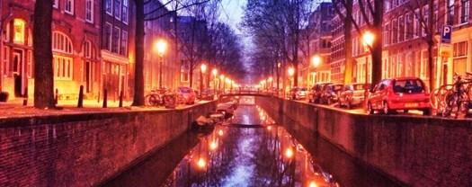 Amsterdam dawn