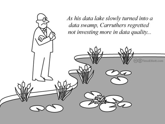 data-lake-to-data-swamp-cartoon