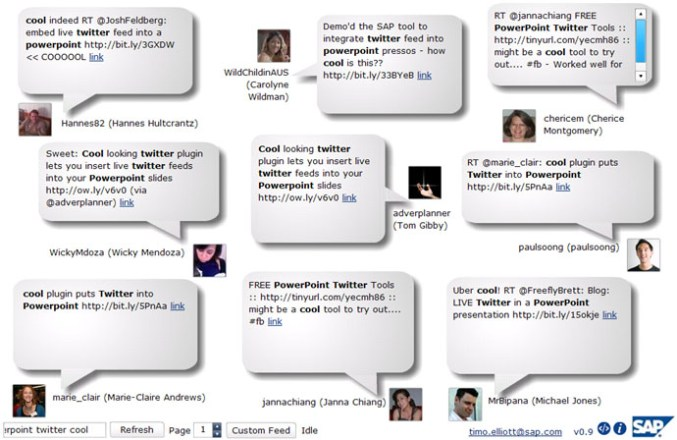 Too Scared to Use the PowerPoint Twitter Tools? Moderation