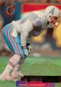 Al Smith 2 time Pro Bowl Ten Years NFL.