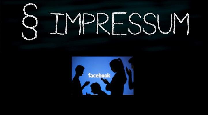 Impressumpflicht bei Facebook