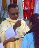 2016.08.Fr Side's first mass