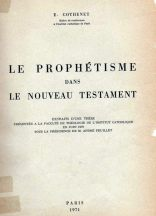 cothenet prophétisme