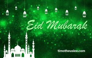 Wishing all our Muslim friends, family & loved ones Eid Mubarak!