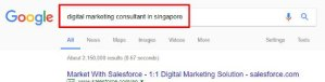 Get Your Website Ranked First Page on Google - Search Results Page Close Up on Google logo