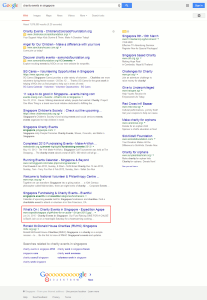 Digital Marketing Consultant Singapore - Portfolio - SEO - Full Page Results for First Page Ranking