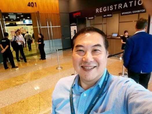 Timotheus arrived at Seamless Asia 2017