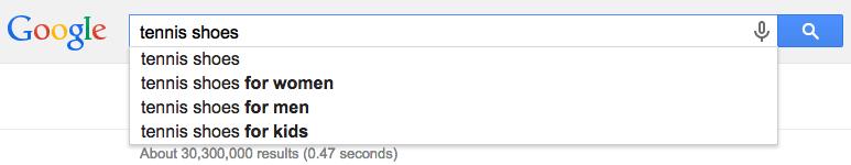 google tennis shoes top