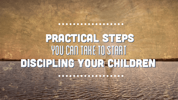 Practical Steps to Discipling