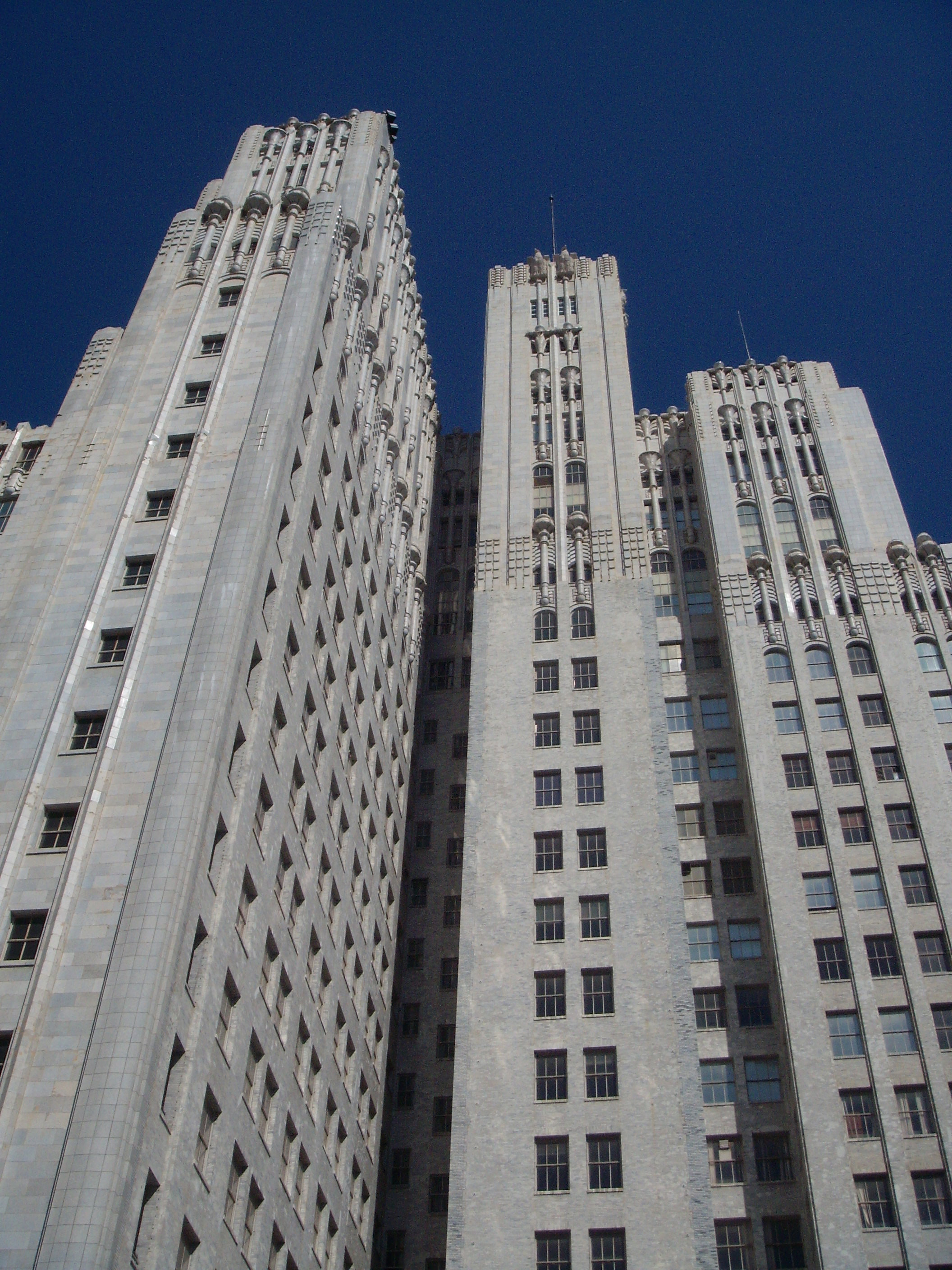 Telephone Building from SFMoMA Rooftop Garden