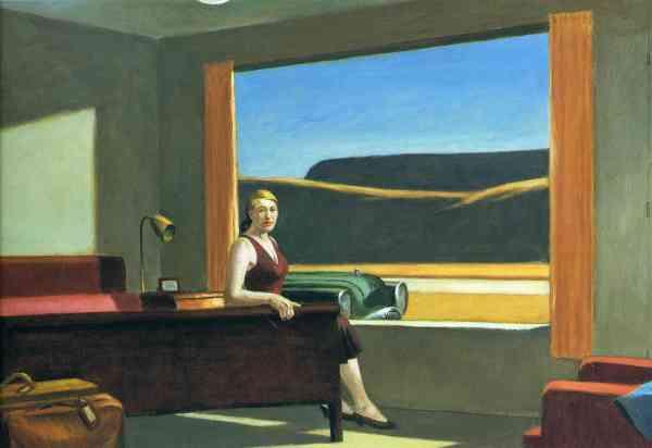 Edward Hopper Western Motel