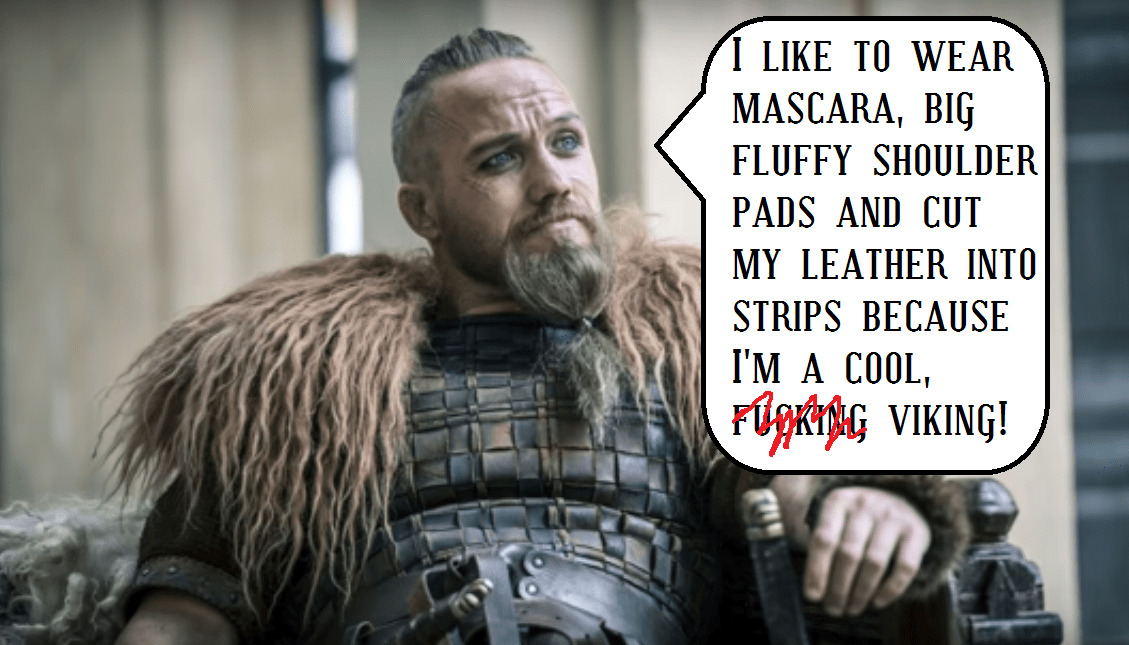 real vikings versus fake TV vikings