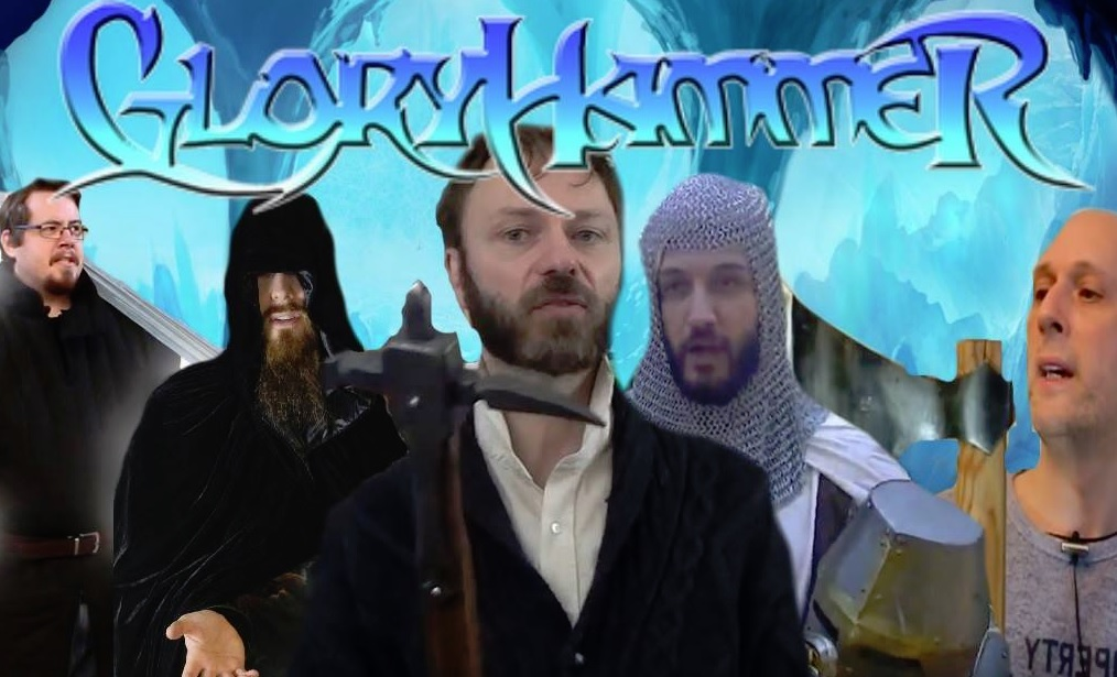 medieval mythbusters metal band glory hammer