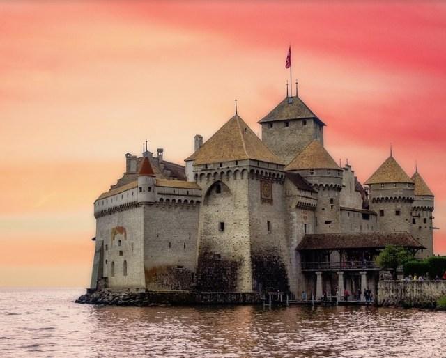 where were castles built?